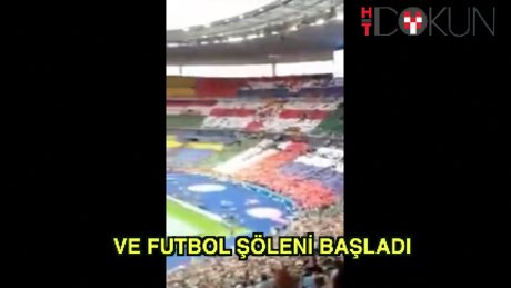 Euro 2016'ya görkemli açılış