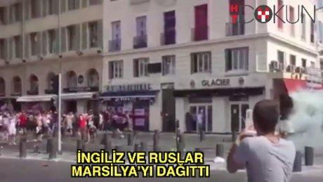 İngiliz ve Ruslar birbirine girdi