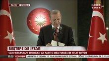 Cumhurbaşkanı Erdoğan'dan AK Partili vekillere iftar