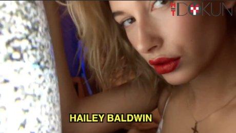 Hailey Baldwin'in takvim çekiminden en seksi pozlar