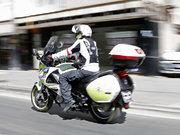 Motosikletli doktorlar yollarda