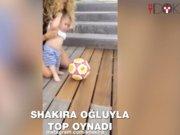 Shakira ve oğlu top oynarkenki hallerini sosyal medyada paylaştı