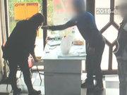 Genç kızın fendi, biber gazını yendi!