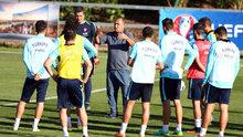 Milli takımın İspanya maçı hazırlıkları