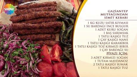 Gaziantep Mutfağı'ndan Simit Kebabı
