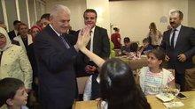 Başbakan Yıldırım, çocuklarla bir araya geldi