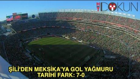 Copa America'da tarihi fark: 7-0