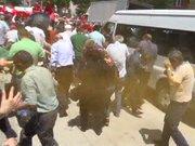Bolu'da CHP'lilere gazlı polis müdahalesi