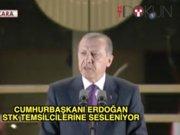 Cumhurbaşkanı Erdoğan STK temsilcileri ile iftar yaptı