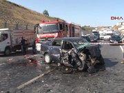 Esenler'de trafik kazası 2 ölü, 1 yaralı