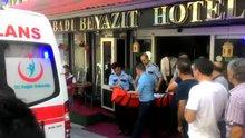 Fatih'te Özbek vatandaşı şahıs eşini bıçakladı