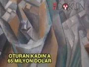 Picasso'nun Oturan Kadın'ına 64 milyon dolar