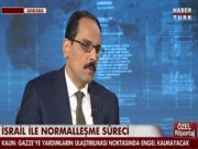 İbrahim Kalın Habertürk TV'de