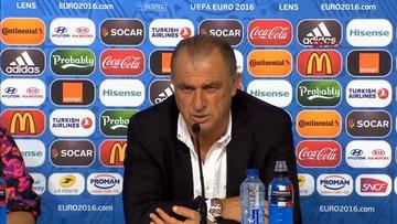 Fatih Terim, Çek Cumhuriyeti maçı sonrası konuştu
