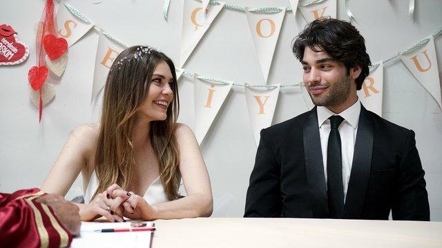 Nisan ve Efe evlendi