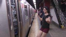 Metroya yetişemeyenler