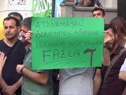 Atanamayan öğretmenler Diyarbakır'da eylem yaptı