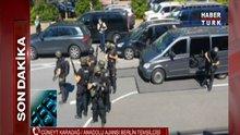 Almanya'da bir sinema salonunda silahlı saldırı