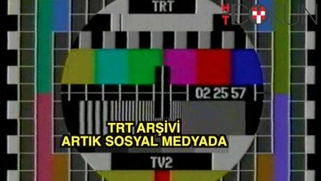 TRT'nin arşivi sosyal medyada