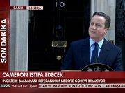 Cameron istifa kararı verdi