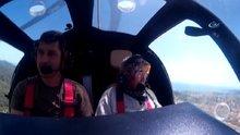 80 Yaşında Cayrokopter ile ilk kez uçtu