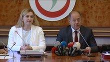 Sağlık Bakanı Recep Akdağ Moldova Sağlık Bakanını kabul etti