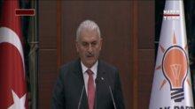 Başbakan Yıldırım iftar programında konuştu