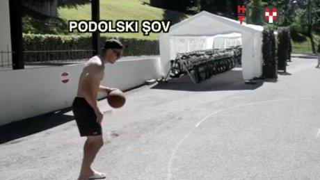 Podolski'den basket