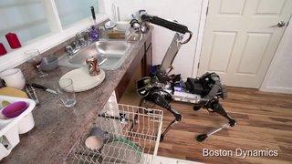 BOSTON DYNAMİCS'İN YENİ ROBOTU