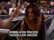 Tenisçilere Wimbledon öncesi parti