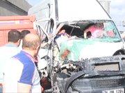 Bağcılar'da minibüs kazası