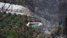 Kumluca'daki yangın böyle görüntülendi