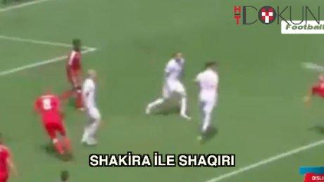 Shakira'dan Shaqiri'ye nazire