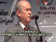 MHP'de seçimli kurultaya mahkeme reddi