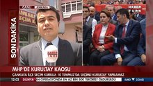 MHP'de kurultay kaosu