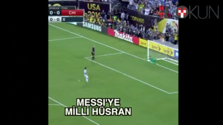 Messi'den gözyaşı ve veda