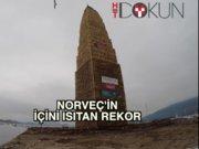 Norveç'i ısıtan dünya rekoru