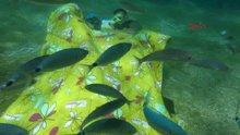 Yatak odasını deniz dibine taşıdılar