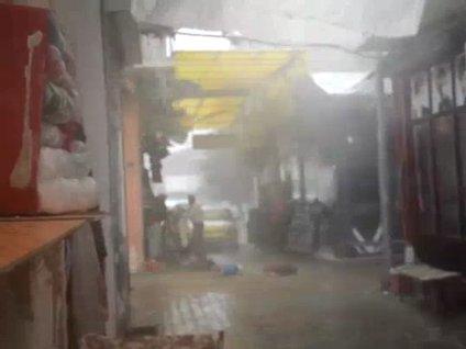 Malatya'da sağanak yağış etkili oldu