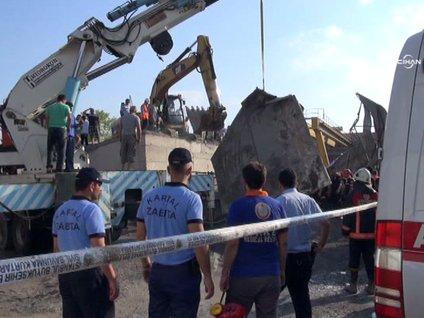 Göçükte kalan 2 işçinin cansız bedenine ulaşıldı