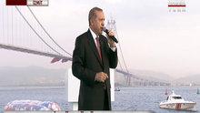 Cumhurbaşkanı Erdoğan, açılış töreninde konuştu