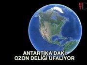 Antartika'dan iyi haber: Ozon ufalıyor