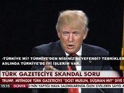 Türk gazeteciye skandal soru