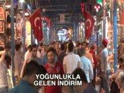 Eminönü'nde bayram yoğunluğu