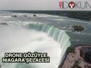 Drone gözüyle Niagara şelalesi
