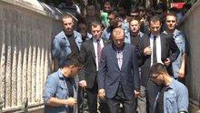 Erdoğan anne ve babasını ziyaret etti