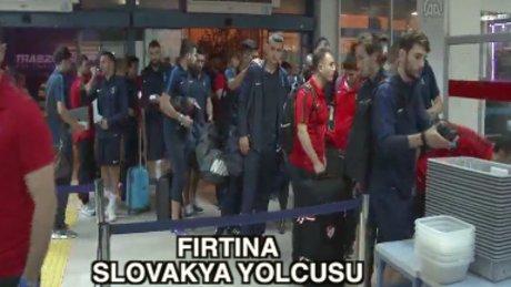 Trabzonspor Slovakya'da