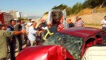 Anne ile oğlu ayıran kaza: 1 ölü, 1 yaralı
