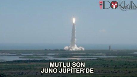 Uzayda tarihi anlar: Juno Jüpiter'de