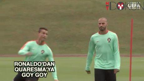 Q17'ye Ronaldo şakaları